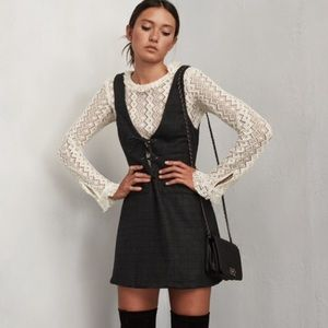 Reformation Rigley Jumper Dress